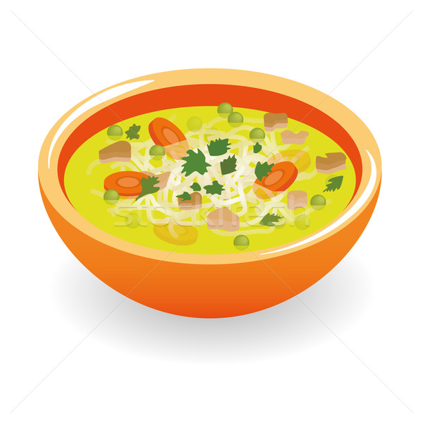 beef broth soup Stock photo © glorcza