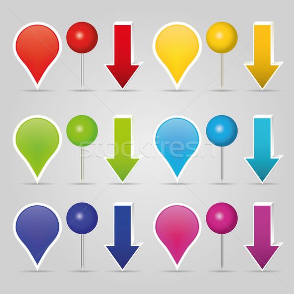 Stock photo: arrows
