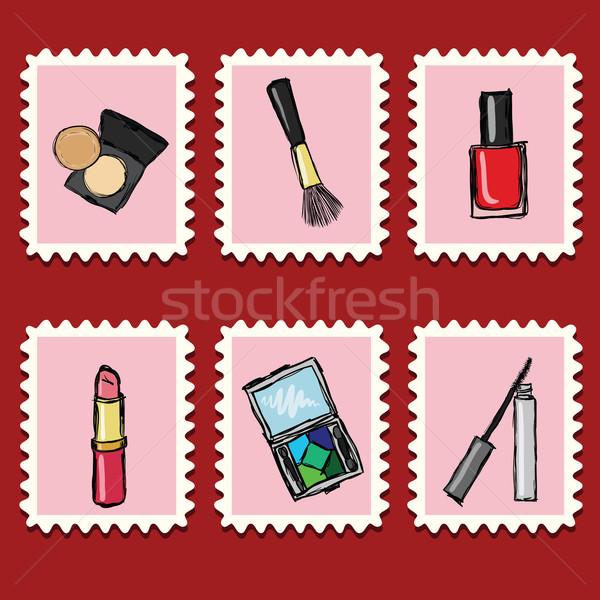 stamps collection Stock photo © glorcza