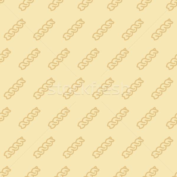 fusilli seamless pattern Stock photo © glorcza