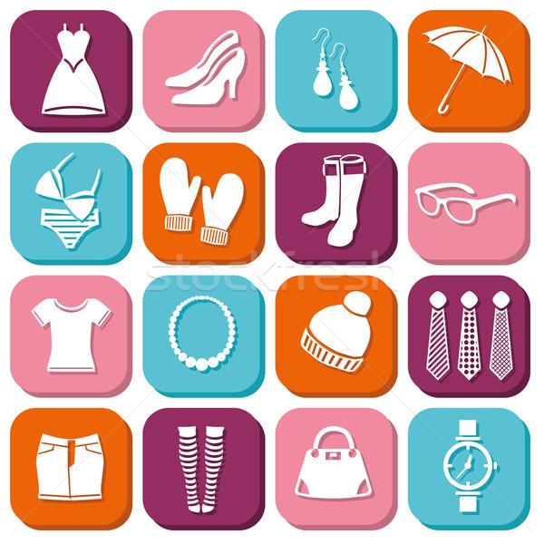 fashion icons Stock photo © glorcza