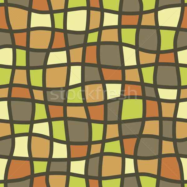 mosaic seamless pattern Stock photo © glorcza