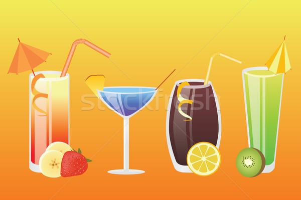 drinks Stock photo © glorcza