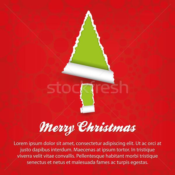 Stock photo: merry christmas