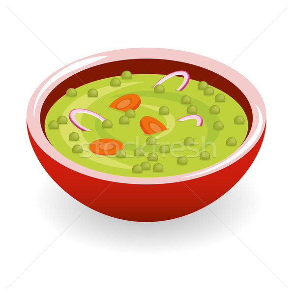 pea soup Stock photo © glorcza