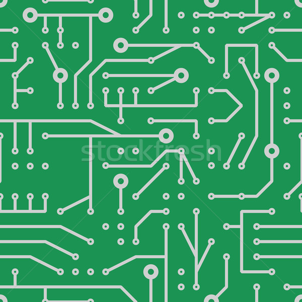 Imprimé circuit résumé tissu pouvoir Photo stock © glorcza