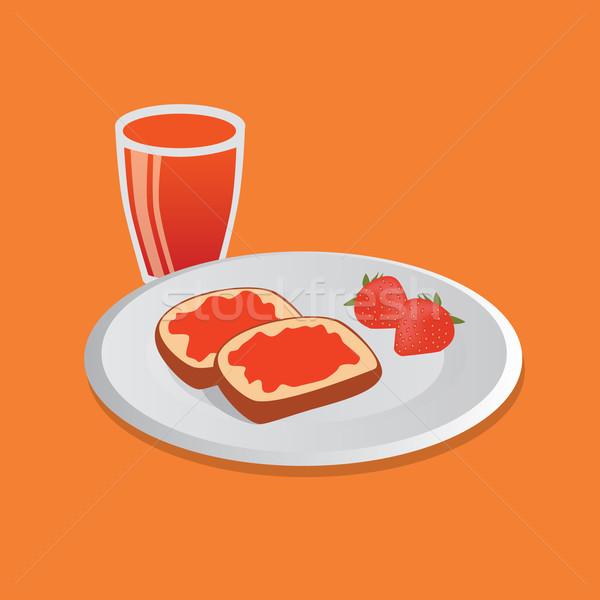 breakfast Stock photo © glorcza