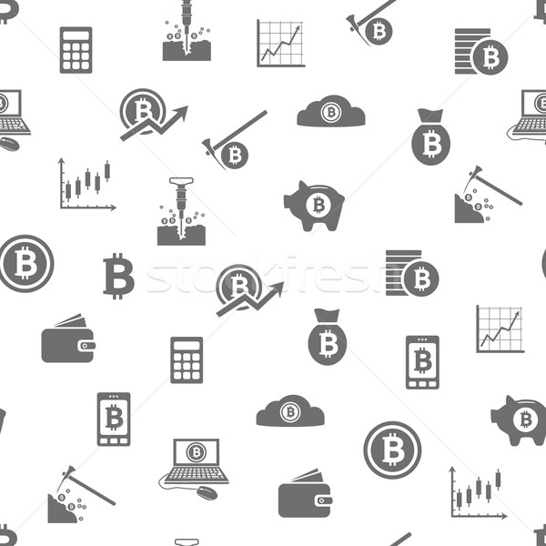 Photo stock: Bitcoin · texture · téléphone · design · fond