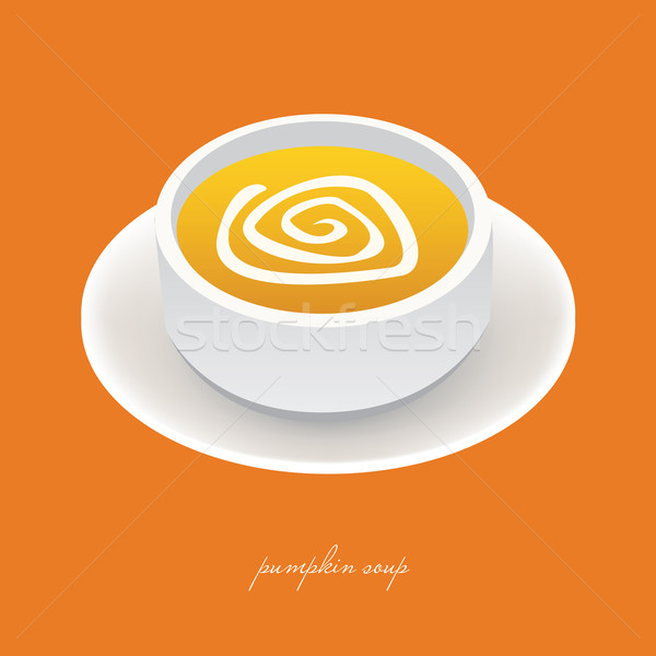 pumpkin soup Stock photo © glorcza