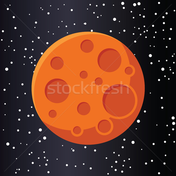 red planet mars in space Stock photo © glorcza