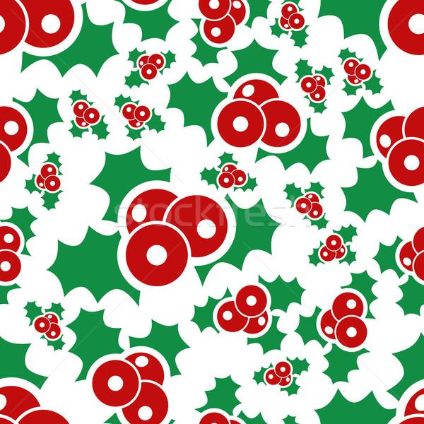 Mistel Textur Design Hintergrund Winter Stock foto © glorcza
