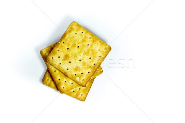 wafers on a white background Stock photo © Gloszilla
