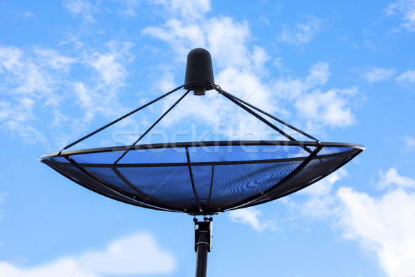 Céu internet sol teia cabo Foto stock © Gloszilla