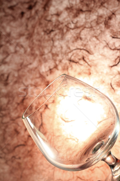 Vidro água copo ambiente reflexão símbolo Foto stock © Gloszilla