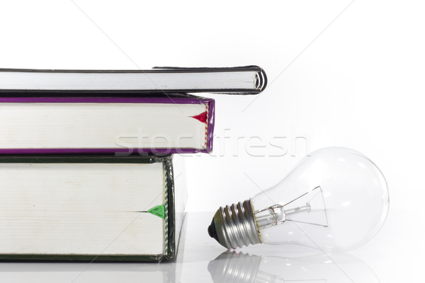 Books intellectual beauty Stock photo © Gloszilla