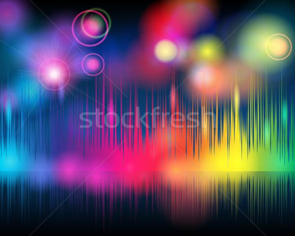 Elegante muziek vector dans gelukkig Stockfoto © glyph