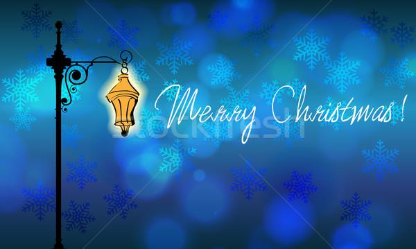 Beautiful Christmas background Stock photo © glyph