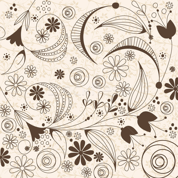 Vintage floral background Stock photo © glyph