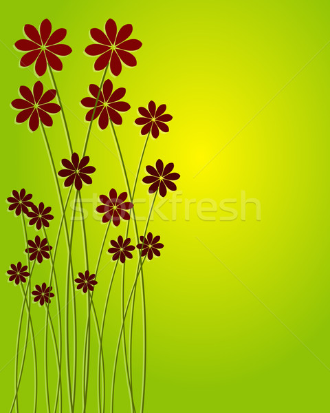 Beautiful floral background Stock photo © glyph