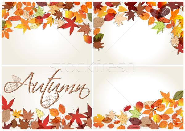Ingesteld kleurrijk illustratie vector Stockfoto © glyph