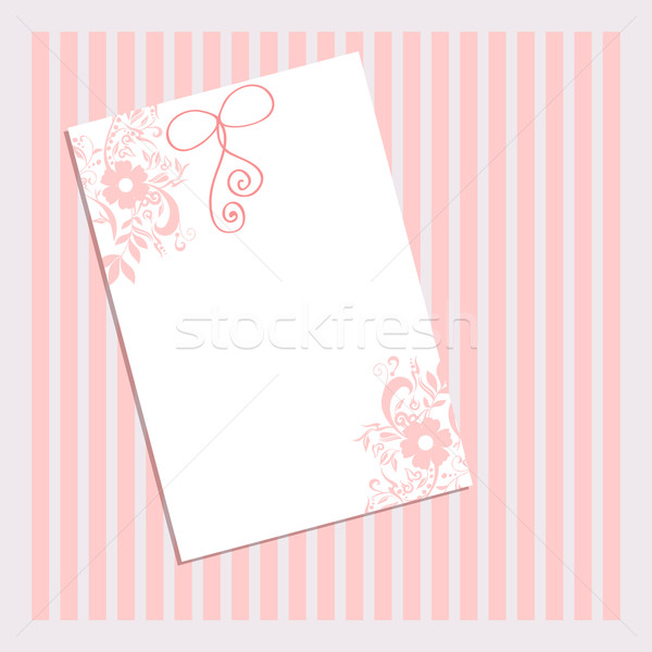 Beautiful floral romantic background Stock photo © glyph
