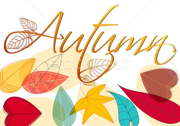 Stockfoto: Kleurrijk · illustratie · vector · stijl