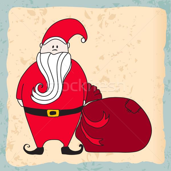Cute Santa Claus Stock photo © glyph
