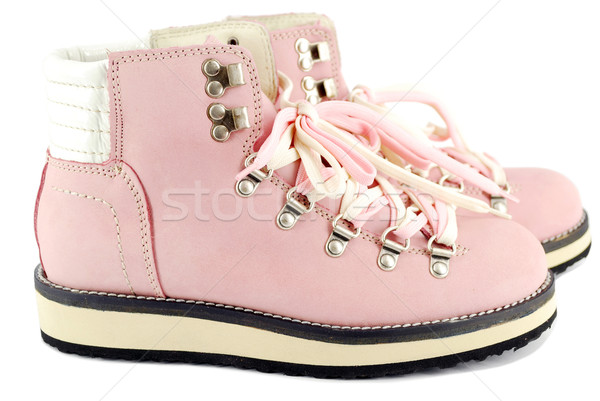 pink hiking boots Stock photo © goce
