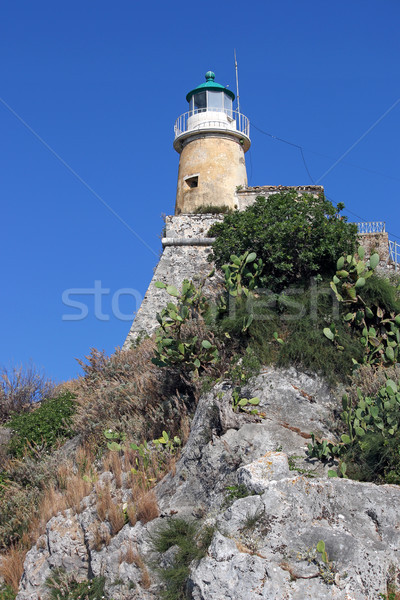 old lighthouse Corfu island Greece  Stock photo © goce