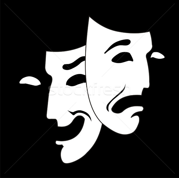 theater mask Stock photo © goce