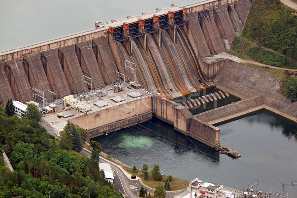 hydroelectric power plant on river Serbia Stock photo © goce