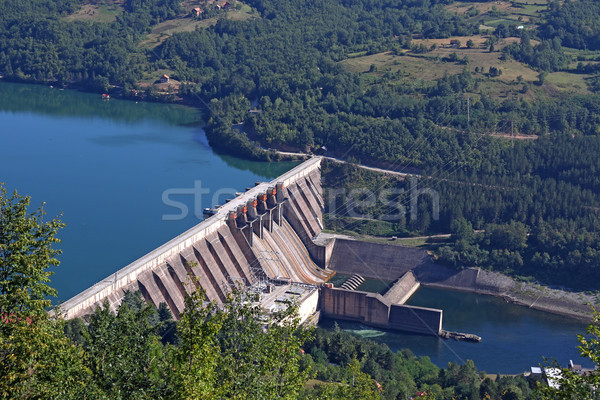 hydroelectric power plant on river  Stock photo © goce