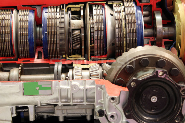car automatic gear transmission detail Stock photo © goce