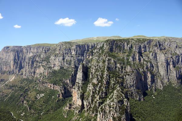 Paysage nature montagne Europe panoramique grec Photo stock © goce