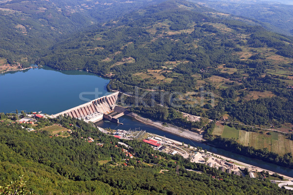 hydroelectric power plant on Drina river  Stock photo © goce