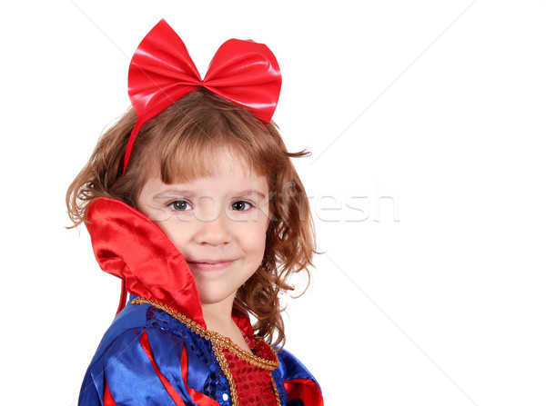 beauty little girl princess Stock photo © goce