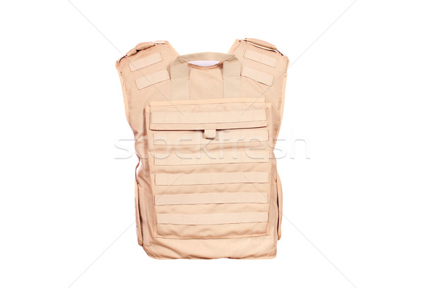 backside of bulletproof vest isolated Stock photo © goce
