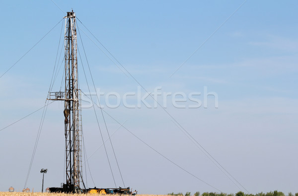 heavy industry oil drilling rig Stock photo © goce