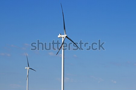 wind turbines power and energy industry Stock photo © goce