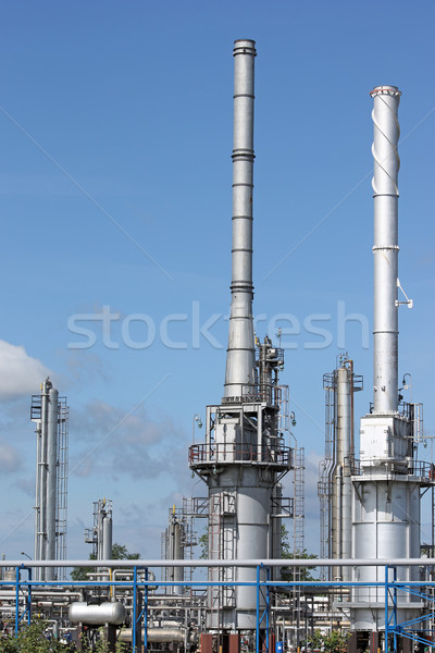 petrochemical plant and pipelines industry zone Stock photo © goce