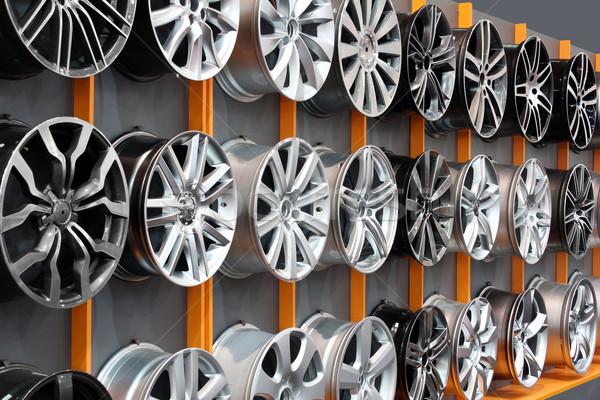 Foto stock: Coche · aluminio · rueda