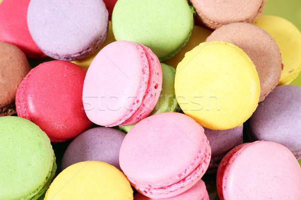 Sweet gâteau alimentaire dessert rose cookie Photo stock © goce