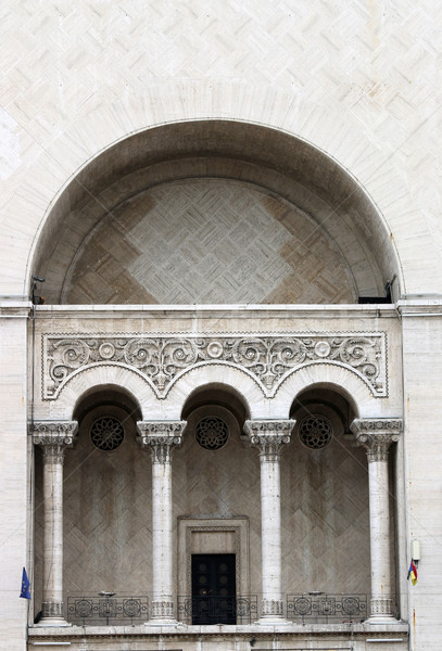 Opera gebouw detail stad stedelijke theater Stockfoto © goce