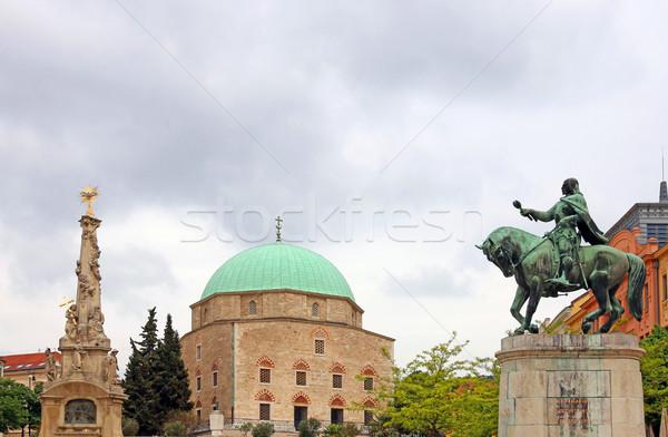 Pasha Qasim Mosque Pecs Hungary Stock photo © goce