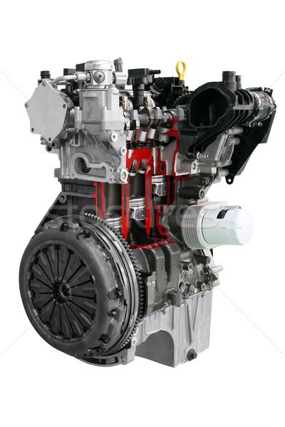 car engine isolated on white background Stock photo © goce