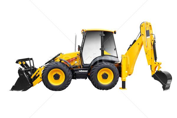 bulldozer isolated on white Stock photo © goce