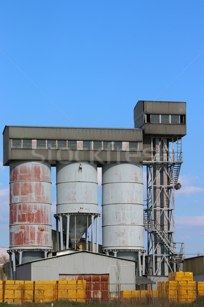 old concrete factory industry zone Stock photo © goce