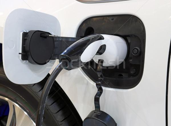 Elektrische auto auto macht elektriciteit elektrische Stockfoto © goce