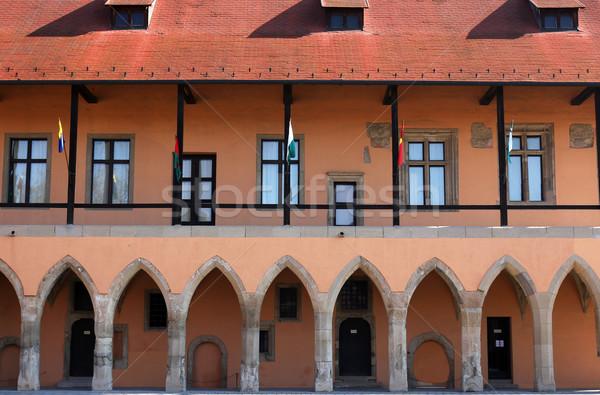 Foto d'archivio: Gothic · palazzo · dettaglio · fort · costruzione · castello