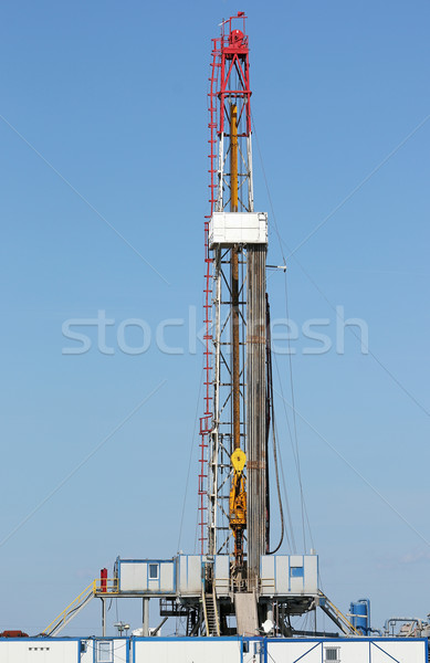offshore oil drilling rig Stock photo © goce